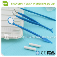 Hot Salable Disposable Medical Composite Instruments Kit Dental Three Kits Two Pieces Five Sets with High Quality