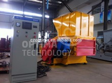 SHBD small plastic pet bottle shredder/plastic bottle crushing machine price for certificates