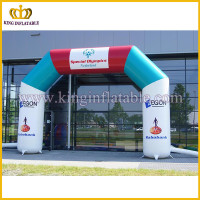 Arch Type Entrance Inflatable Racing Arch