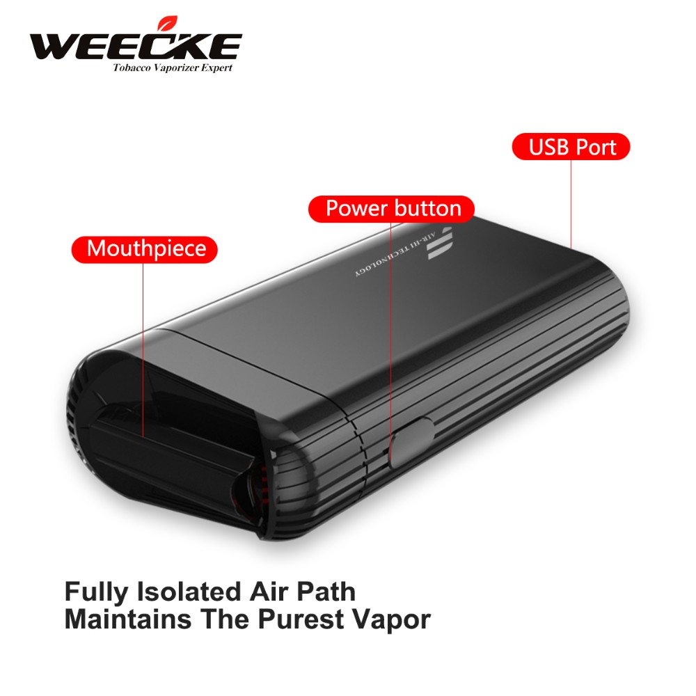2016 New design Convection Dry herb vaporizer with patents, 100% Air Heating vaporizer