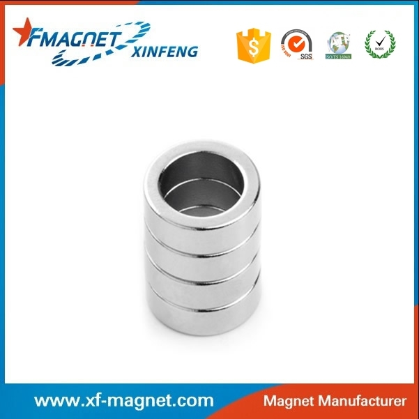 Chinese Top Range Chrome Coating Permanent Rare Earth Magnet Tube Manufacturer