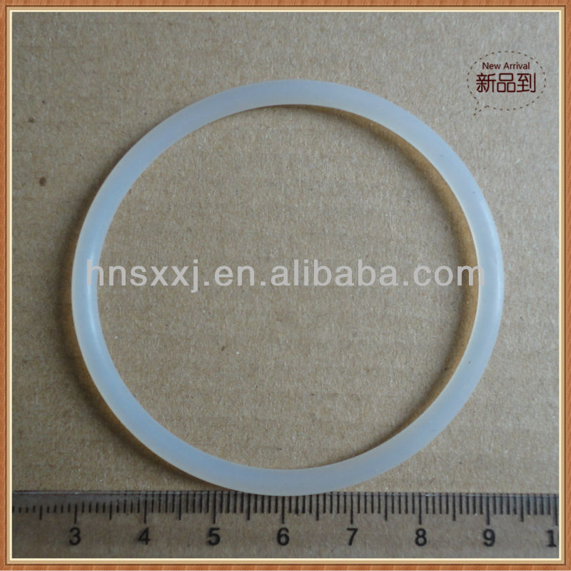 natural colour silicone o rings