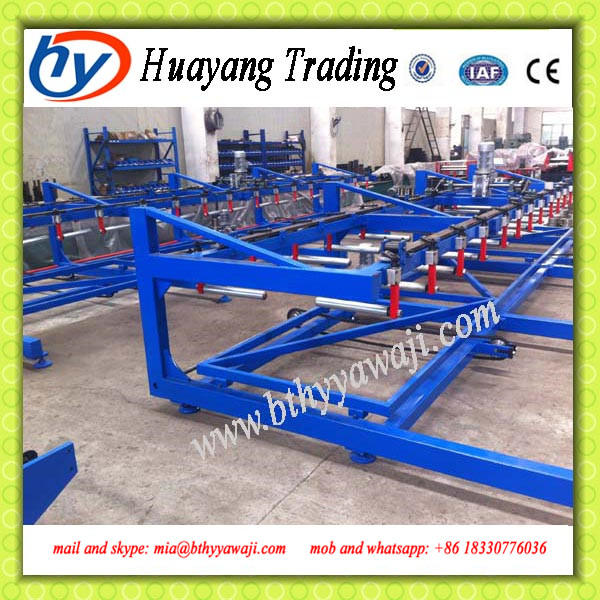 Multifunctional high quality hand pallet truck trolley warehouse auto stacker with crane made in China