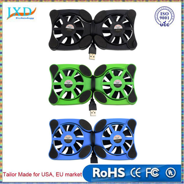 "USB Port Mini Octopus Notebook Fan Cooler Cooling Pad For 7""-15"" Laptop"