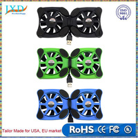 USB Port Mini Octopus Notebook Fan Cooler Cooling Pad For 7