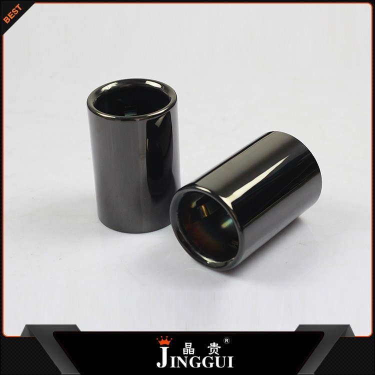 Chroming black color for BMW 3 Series exhaust tip pipe