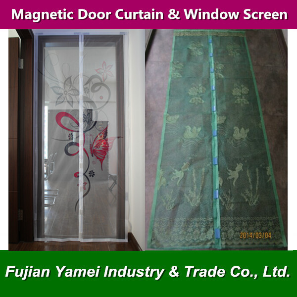 Magnetic Screen door curtain Fly Screen Curtain