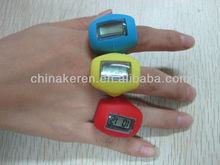 digital finger ring watch