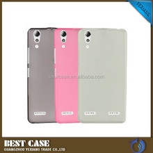 Alibaba China soft TPU silicone gel clear skin cover case for lenovo k3