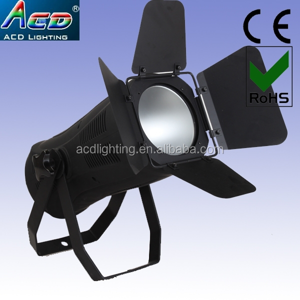 Popular 200w warm white 3200k-3500k led fresnel cob par light