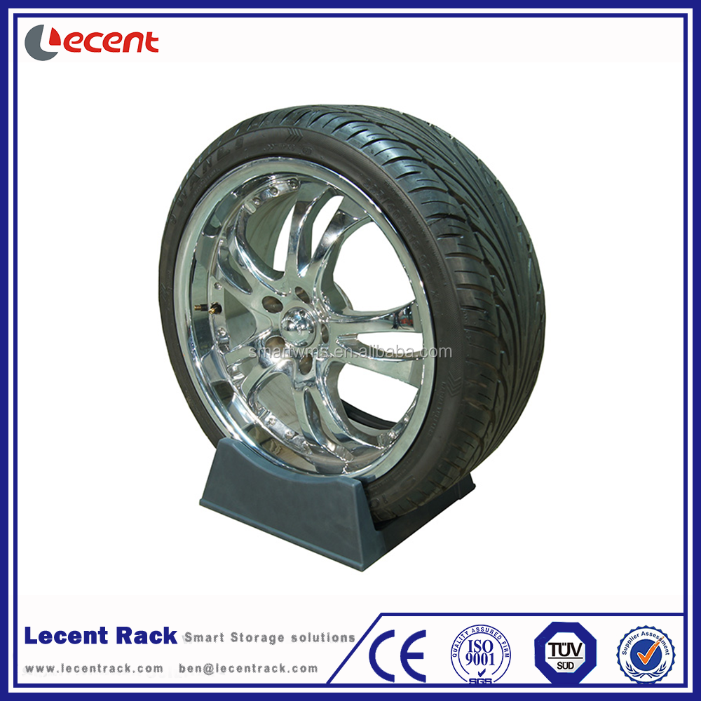 Durable Plastic Tyre Stand For Tire <strong>Display</strong>