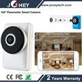 Motion detection Alarm mini P2P wifi 180 degree fisheye ip camera with audio