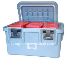 72L Roto-molded Plastic Food Container gray color
