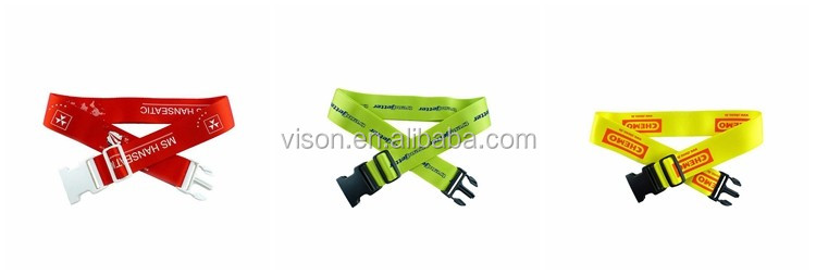 VS-S006 Colorful Luggage Strap Wholesale Luggage Strap, Nylon Strap