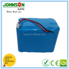 Rechargeable 3.7v 8000mah pack li-ion 18650 battery for bluetooth speaker
