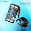 Clear View Waterproof Shockproof Mobile Case With Strap For iPhone 6/s