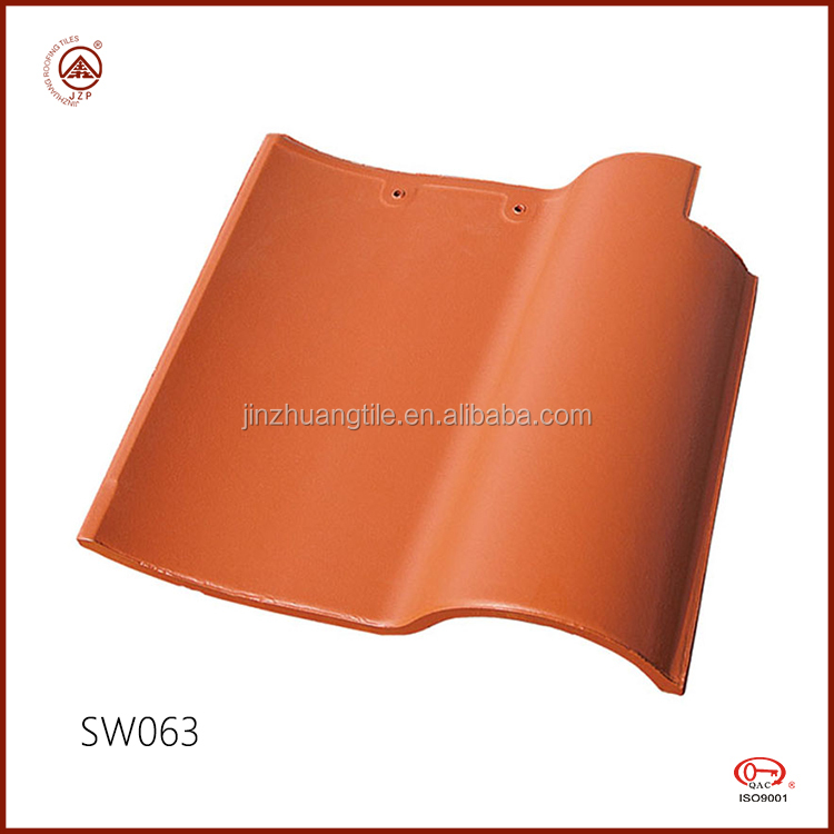 Cheap Spanish Style Waterproof Ceramic Clay Roof Tile