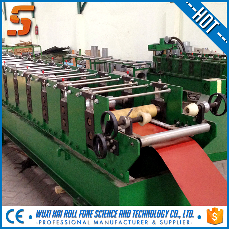 Metal Roof Ridge Cap Roll Forming Machine For South-east Asia market