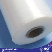best price UV stablized clear transparent food grade pallets wrapping pack plastic PE stretch shrink cling film roll