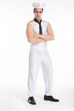 YIWU Caddy SDFS-005 Navy Captain Costume Sex Costumes For Men Carnival Costume