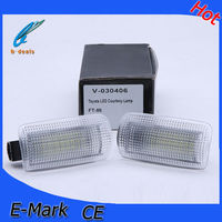 car led license plate light for T-O-Y-O-T-A FT-86 24 pcs led license plate design for each lamp