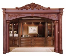 Solid Wooden Door And Window Frame Design Decorative Door Window Moulding