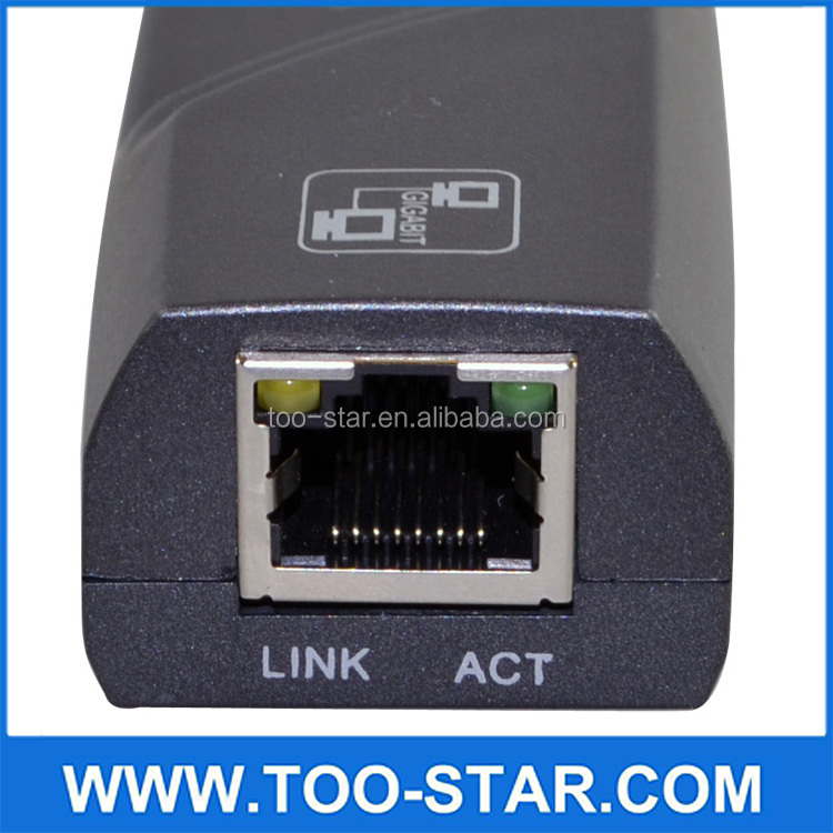 USB 2.0 to RJ45 Lan Network Ethernet Adapter Card USB 3.0 Gigabit Ethernet LAN Adapter