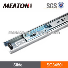 Width 45mm metal table slides / full extension ball bearing slides