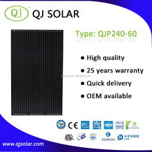 240W Poly solar panel solar pv module for commercial solar system