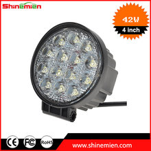 4 Inch 42W LED Work Light/42w led work lamps for tracktor Truck jeep Atv 4WD Boat Mining LED work light