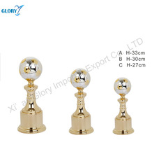 Wholesale Golden Metal Soccer Trophy Cup