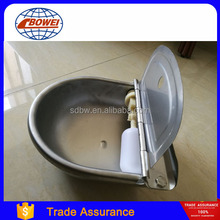 Stainless Steel Cattle Cow Horse Water Drinking Bowl with Floater