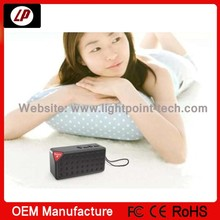 High quality water cube TF card and FM multi funtion bluetooth speaker