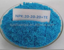 China Factory Supply Water Soluble Blue NPK 20-20-20+TE Fertilizer