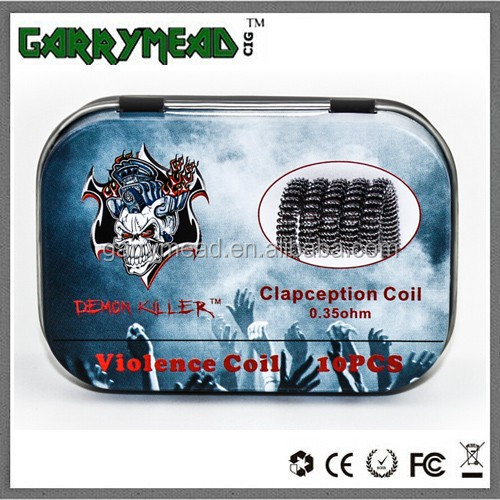 2016 factory newest arriving Demon Killer series Violence coil Clapception coil Alien v2 coil Demon Killer