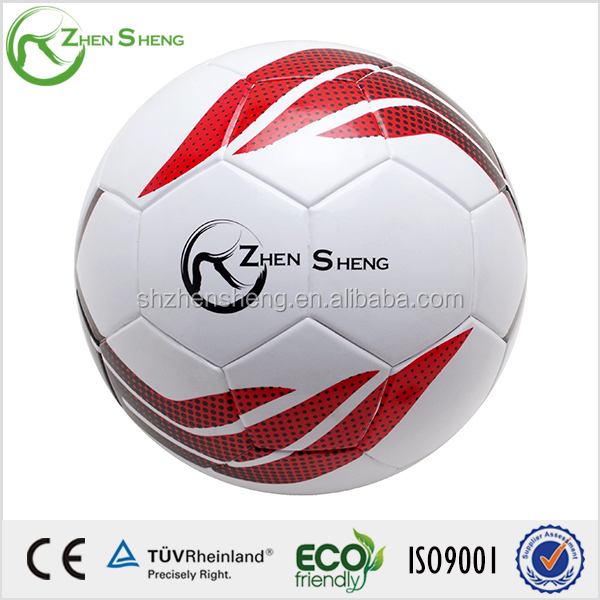 Zhensheng waterproof thermal bonded soccer ball size 5
