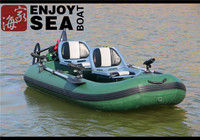 2 person inflatable fishing boat!