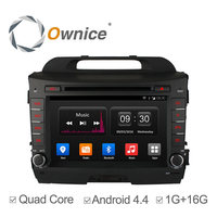 Ownice Quad core android 4.4 Car DVD Automotive gps navi For Kia Sportage R support TV OBD wifi DAB mirror link canbus