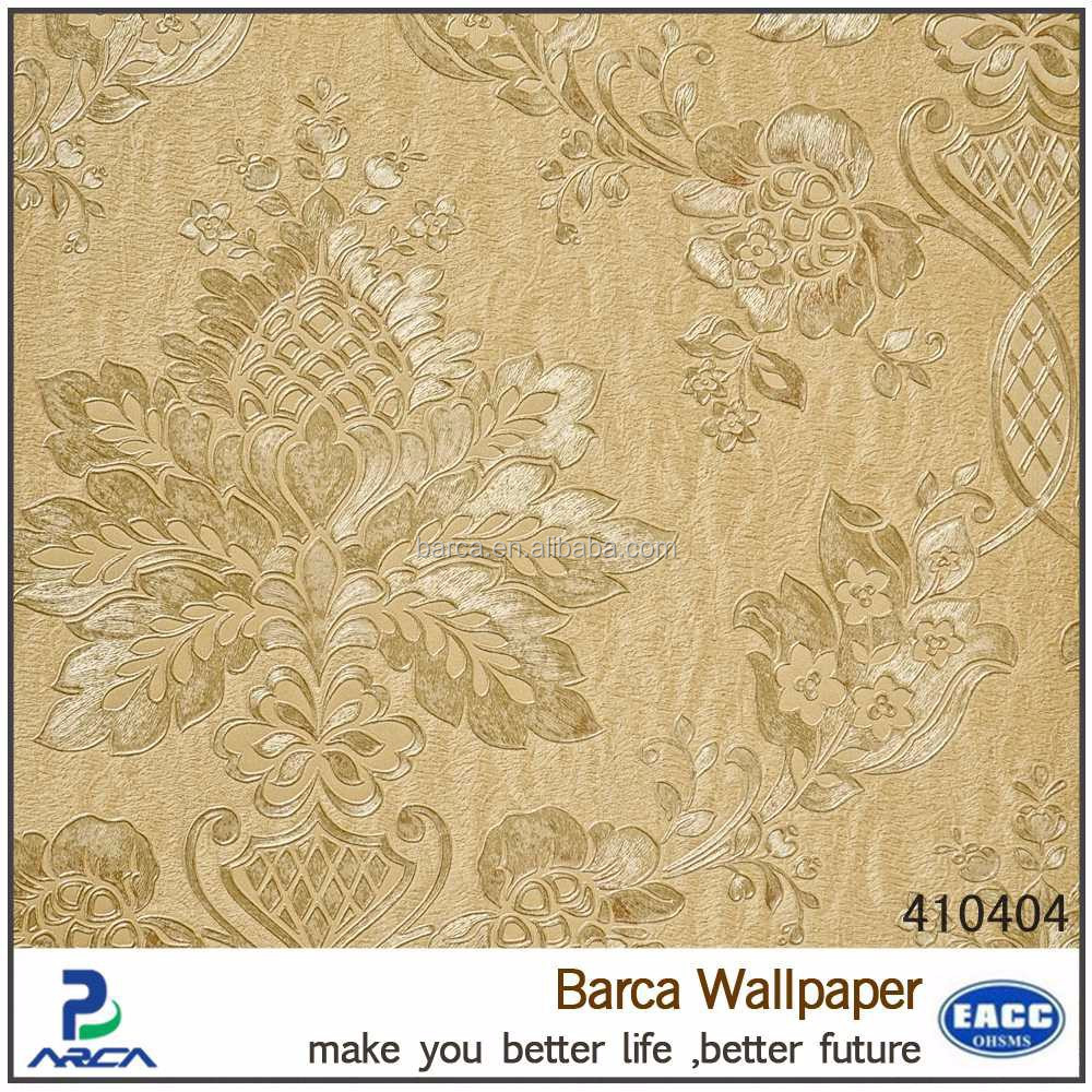Barca 4104 Italian designs style deep embossed wallpaper for hotel decoration