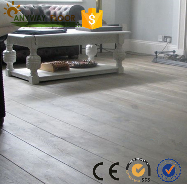 big plank prefinished oak 3 ply floating engineered wood flooring