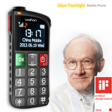 best cell phone for elderly old man alarm panic button personal emergency mobile phone