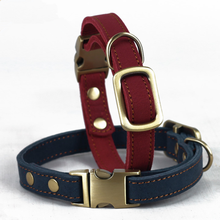 High Quality Real Leather Dog Bark Collar