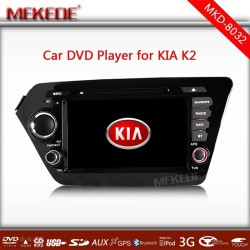 Car cassette tape recorder player for K2 (2011-2012) RIO ( 2012) Russian MEMU GPS Navigation headunit radio bluetooth ATV 1080P