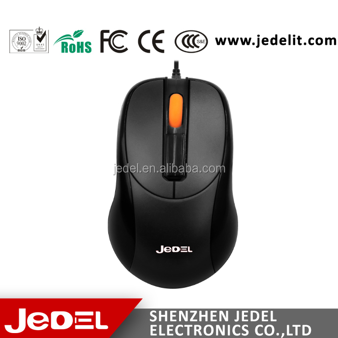 2016 New Arrival thin wired USB optical special mouse for computer