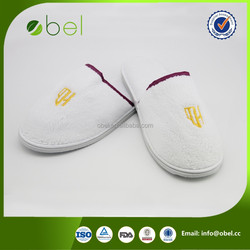washable disposable hotel personalized house slippers