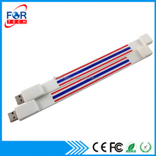 OEM silicone usb bracelet / Wristband 2.0/usb memory stick/ usb flash drive for gifts