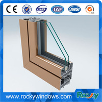 Glossy Aluminum Profile for Window Doors Frame