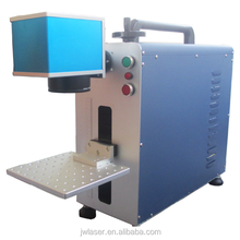 10w / 20W / 50w /100w Jewelry/ring/pipe/hardware/plastic optical fiber laser marking machine for metal