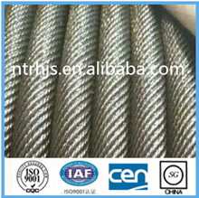 Non rotation steel wire rope 19*7,18*7,galvanized or ungalvanized