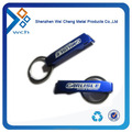 Zinc alloy metal bottle opener with key ring
